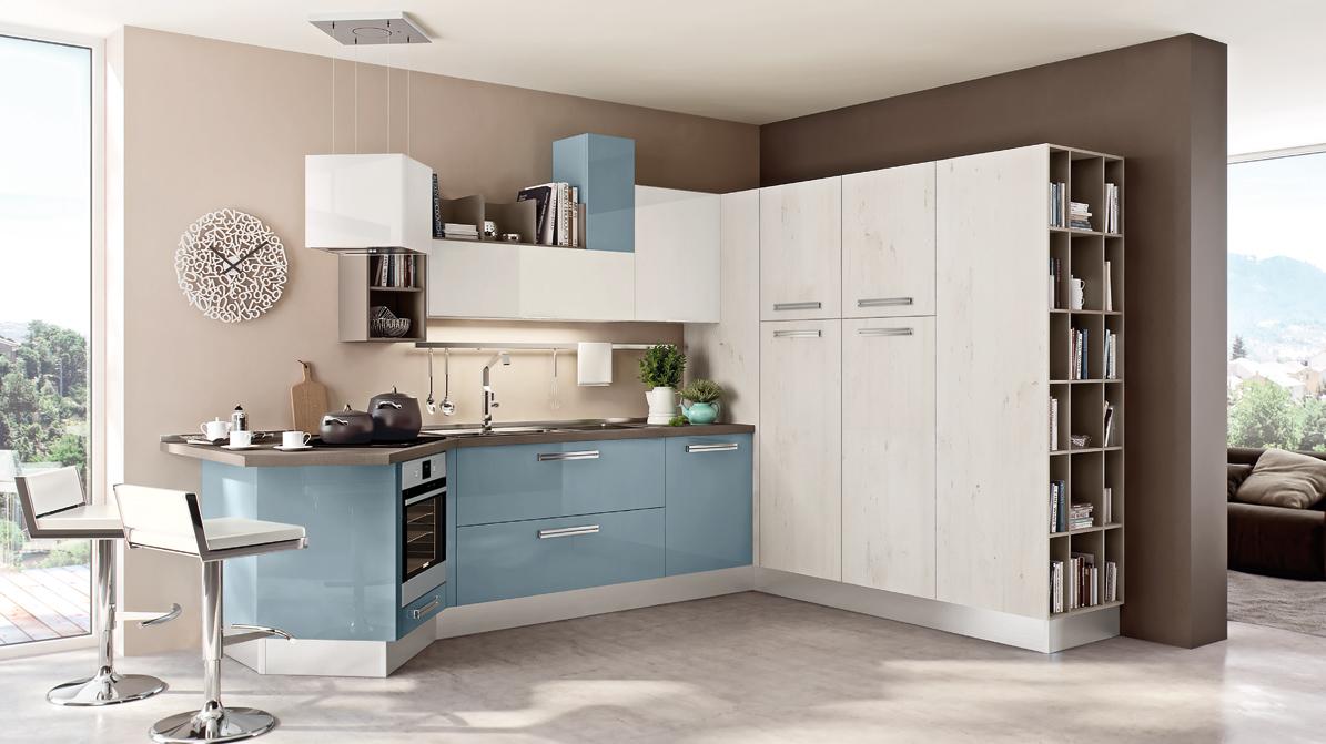 Soluzioni Salvaspazio Cucina : Soluzioni cucine piccole awesome per chiudere la cucina in modo