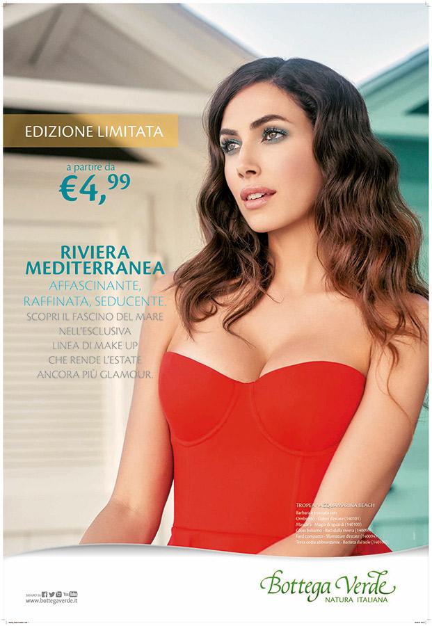 Riviera Mediterranea, la nuova linea makeup di Bottega Verde