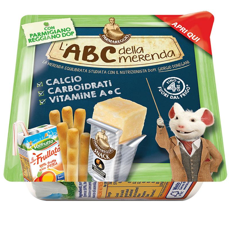 L'ABC della merenda Parmareggio