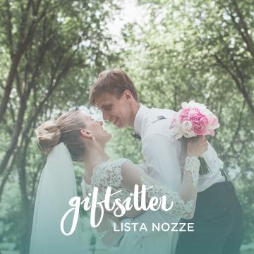 Giftsitter, come creare la lista nozze perfetta