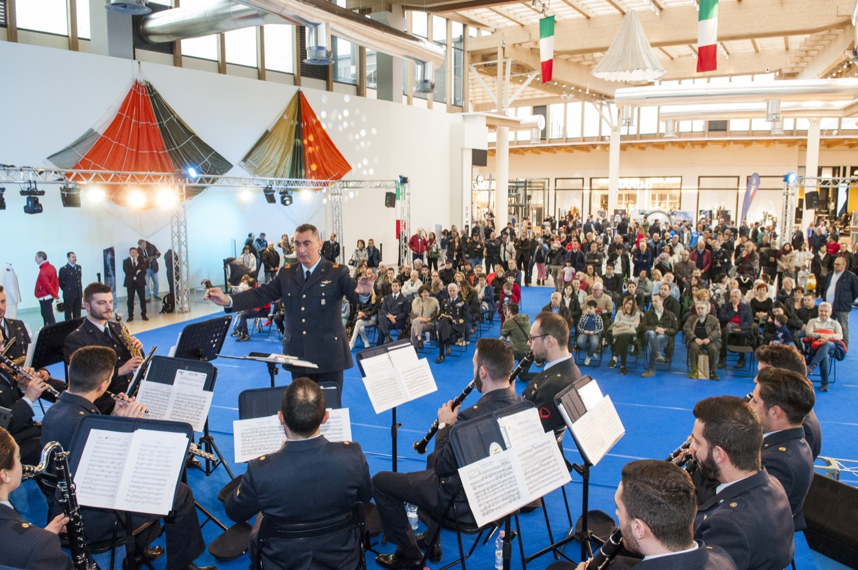 Il Centro festeggia i 95 anni dalla fondazione dell'Aeronautica Militare