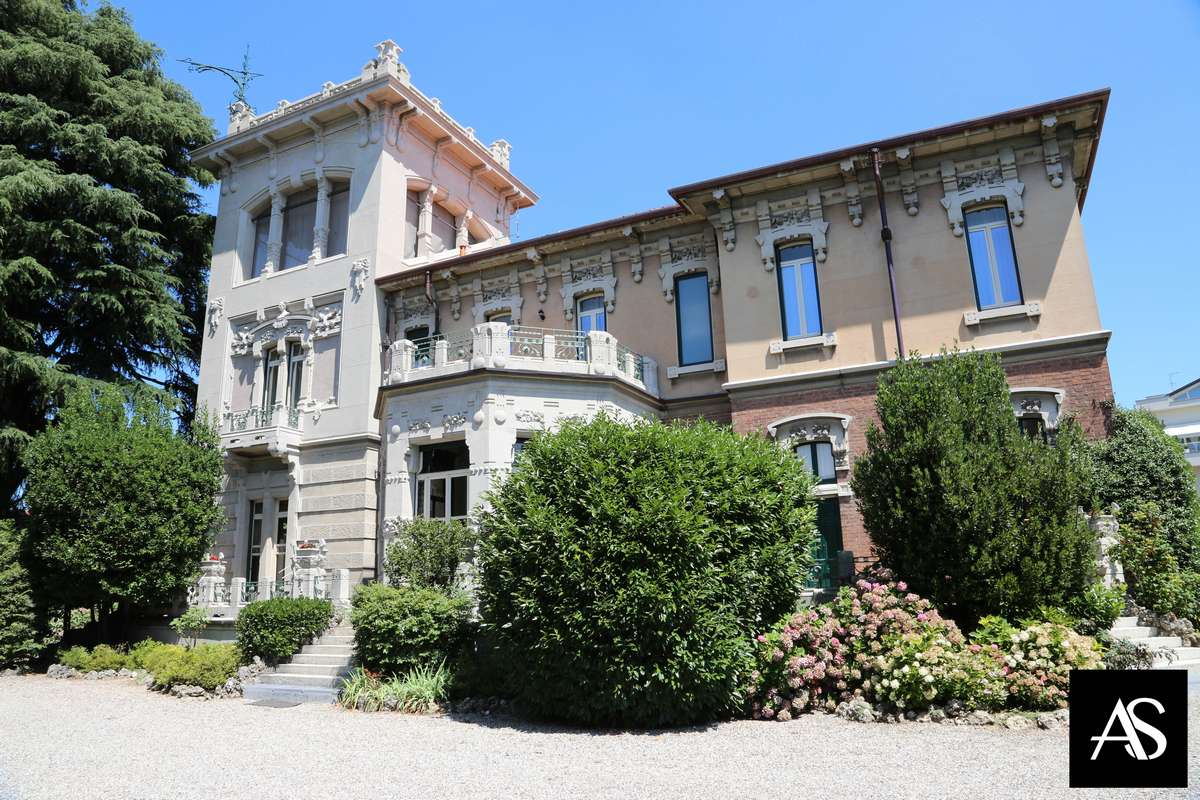 Villa Ida Lampugnani, una dimora in stile Liberty
